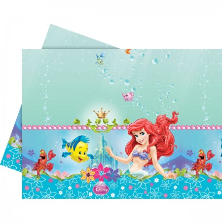 Ariel The Mermaid Plastic Tablecover (1)
