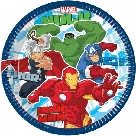 Avengers Lunch Paper Plates (8)