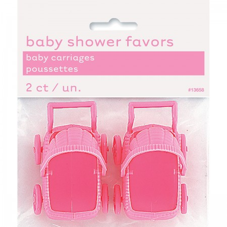 Pink Baby Carriages  (2)