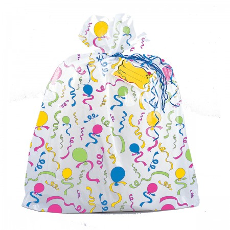 Balloon Streamer Jumbo Plastic Giftbag (1)