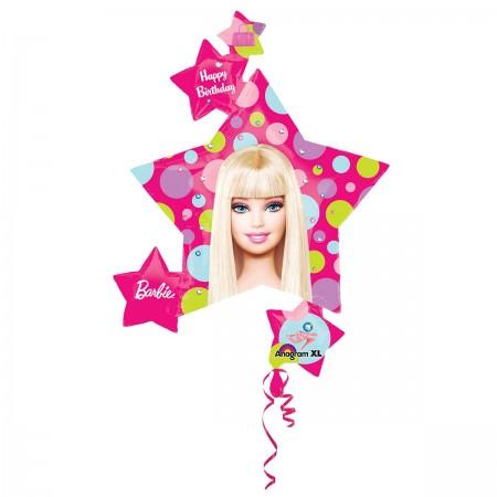"36"" Barbie Pattern Cluster Balloon (1)"