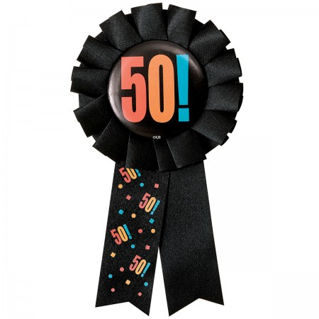 50th Milestone Birthday Award Ribbon (1)