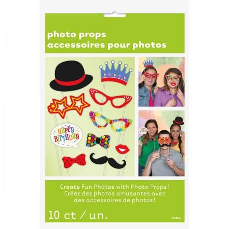 Confetti Birthday Photo Props (10)
