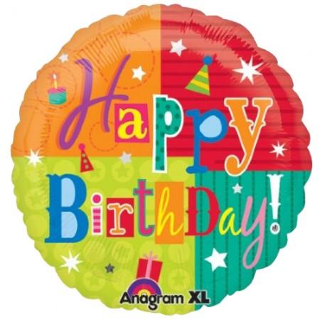 Happy Birthday Fun Foil Balloon (1)