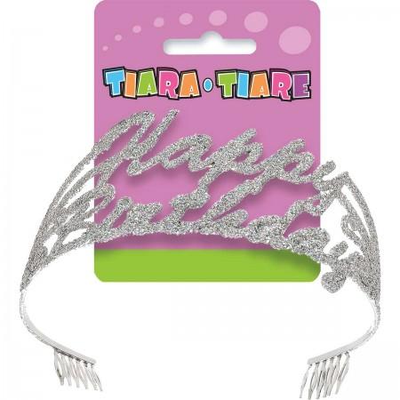 Birthday Script Glitter Tiara (1)