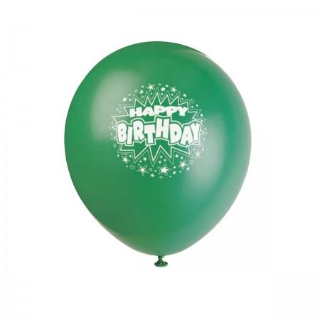 Birthday Stars Assorted Balloons (6)