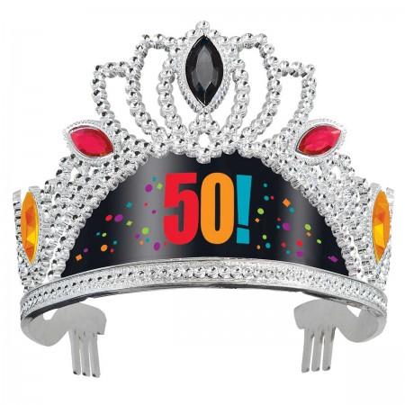 50th Milestone Birthday Tiara (1)