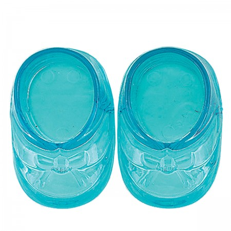 """Blue Baby Boots 3""""  (2)"""