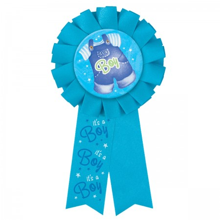 Blue Clothesline Baby Shower Award Ribbon (1)