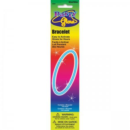"""Blue Glow Bracelet 8"""" (1)"""