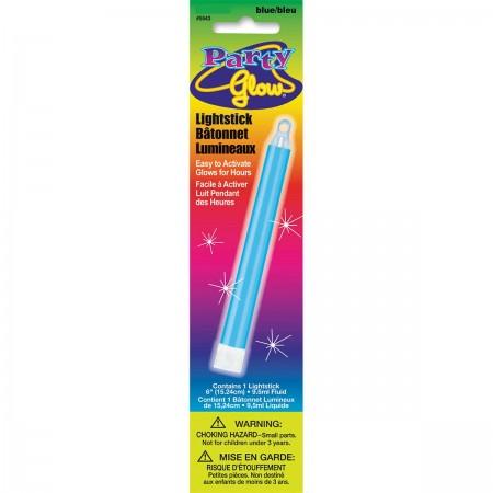 "Blue Glow Lightstick 6"" (1)"