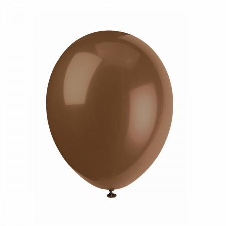 Brown Latex Balloons (15)