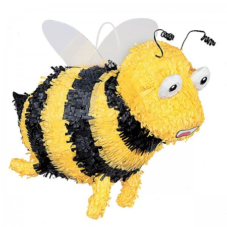 Bumble Bee Pinata with Pull String Kit (1)