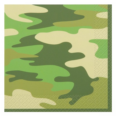 Camo Party Lunch Napkins (16)