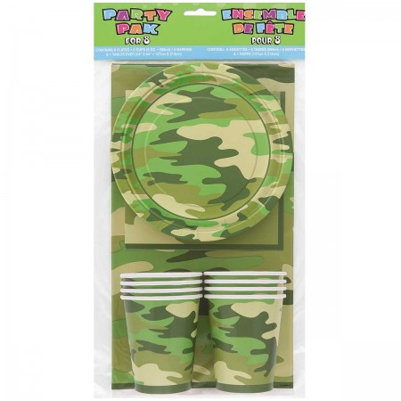 Camo Party Pack for 8 (1)