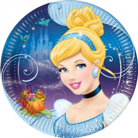 Cinderella Lunch Paper Plates (8)