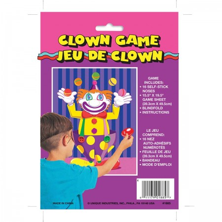 Clown Pin/Nose Party Game (1)