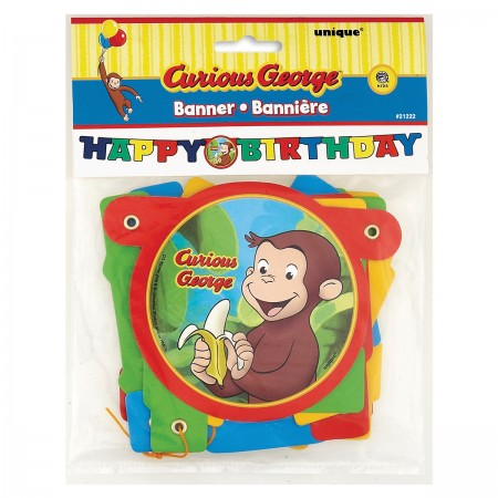 Curious George Jointed Birthday Banner (1)