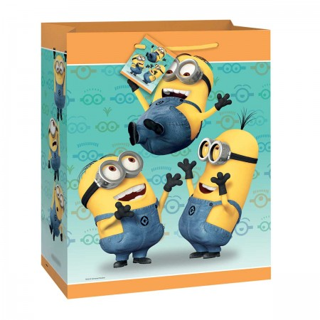 Despicable Me Minion Large Gift Bag (1)