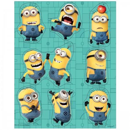 Despicable Me Minion Sticker Sheets (4)