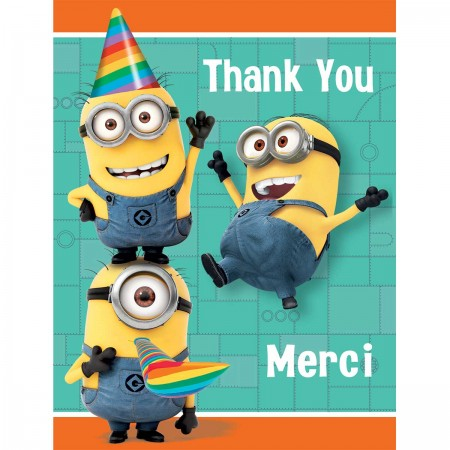 Despicable Me Minion Thank You Notes (8)