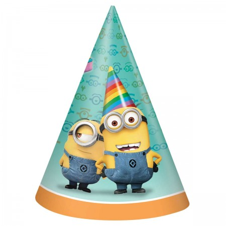 Despicable Me Minion Party Hats (8)