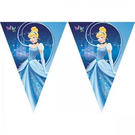 Cinderella Triangle Flag Banner (9 flags)