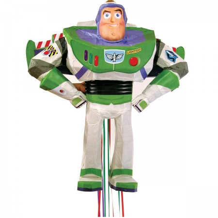 Disney Pixar Buzz Light Year 3D Pull Piñata (1)