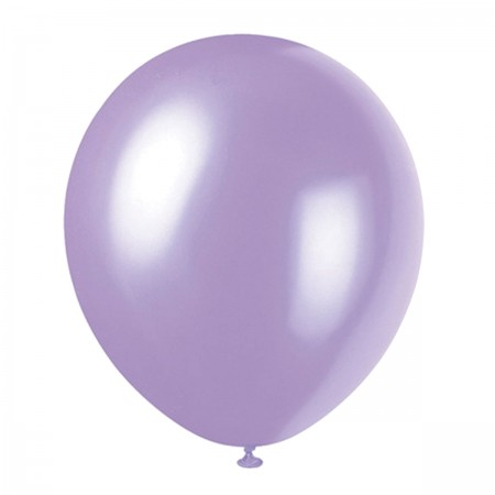 Dusty Lavender Pearlized Balloons (72)