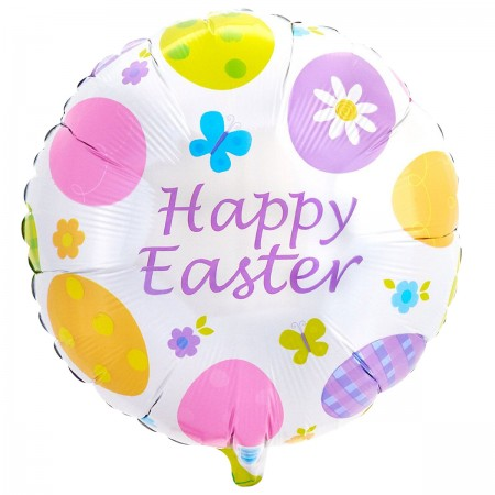 "Eggstravaganza Easter Foil Balloon 18"" (1)"