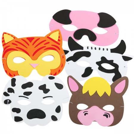 Farm Animal Masks (12)