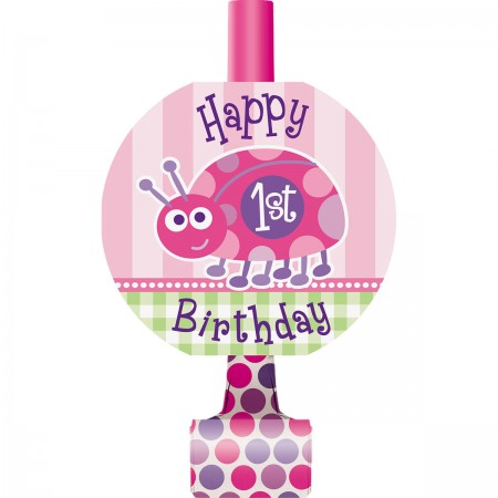 First Birthday Ladybug Blowouts (8)