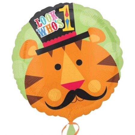 Fisher Price Tiger First Birthday Foil Balloon (1)