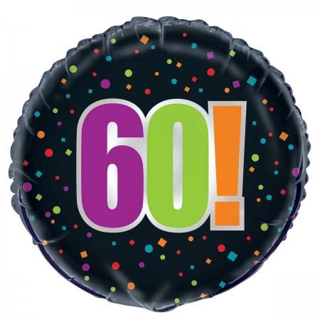 60th Milestone Birthday Foil Balloon (1)