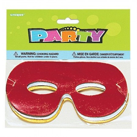 Foil Eye Masks - Assorted (8)