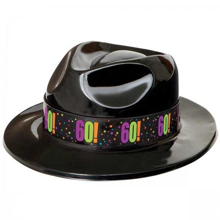 60th Milestone Birthday Gangster Party Hat 1