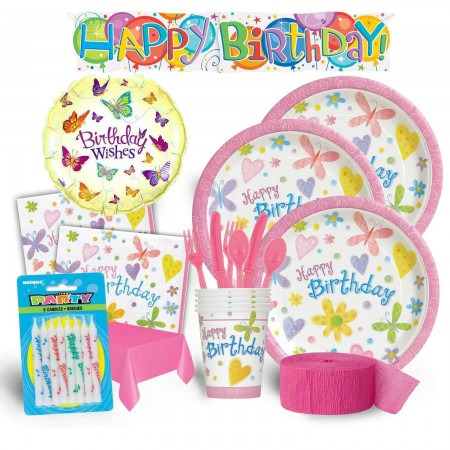 Garden Girl Birthday Deluxe Kit