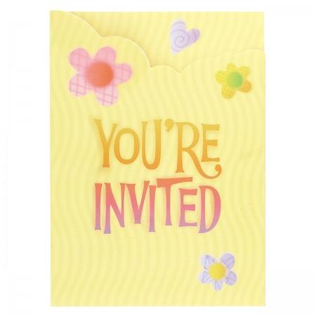 Garden Girl Birthday Invitations (8)