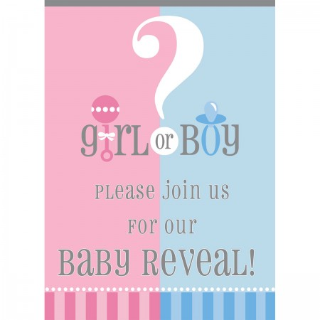 Gender Reveal Invitations (8)