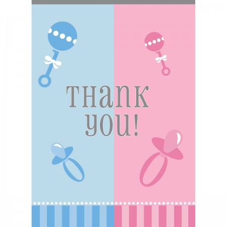 Gender Reveal Thank You Notes (8)