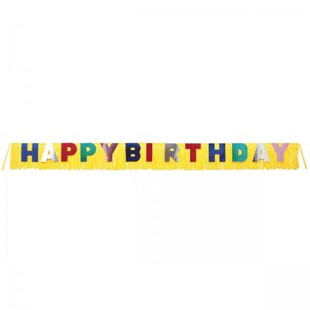 Giant Birthday Fringe Banner (1)