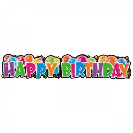 Giant Jointed Birthday Banner (1)