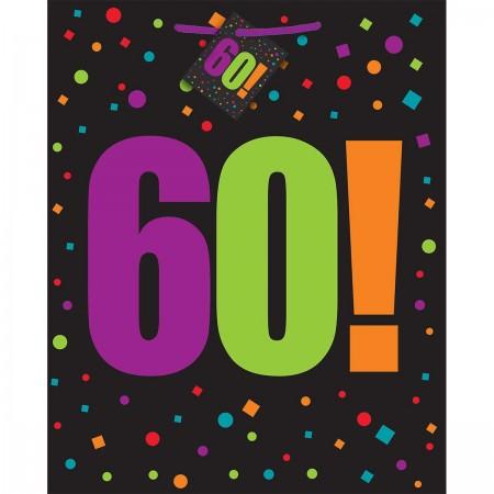 60th Milestone Birthday Large Gift Bag (1)