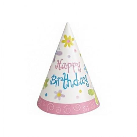 Garden Girl Birthday Party Hats (8)