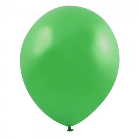 Green Latex Balloons (100)