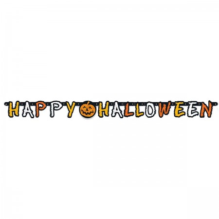 Checkered Halloween Jointed Banner (1)