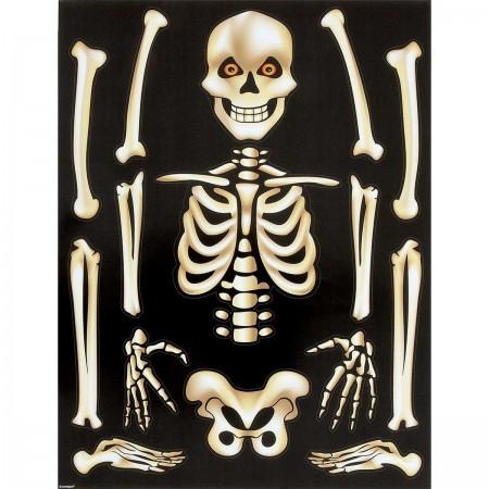 Skeleton Window Clings Sheet (1)