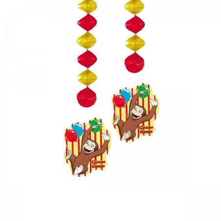 Curious George Hanging Decorations (4)