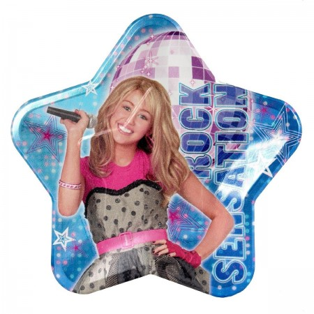 Hannah Montana Rock The Stage Lunch Plates (8)