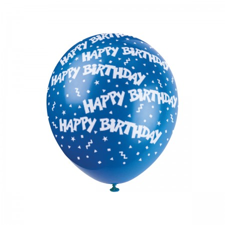 Happy Birthday Confetti Printed Balloons (72)